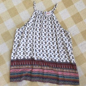 Mossimo Patterned Halter Top